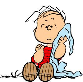 Linus and his security blanket